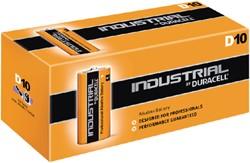 Batterij Duracell industrial D alkaline ds/10