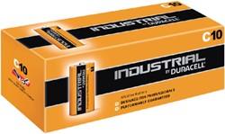 Batterij Duracell industrial C alkaline ds/10