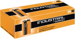 Batterij Duracell industrial 9V ds/10