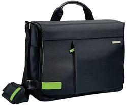 """Notebooktas koerier Leitz Smart Traveller 15.6"""" zwart"""
