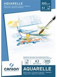 Aquarelblok Canson A3 10vel 300gr