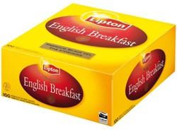 Thee Lipton English breakfast 1.5gr zonder envelop ds/100