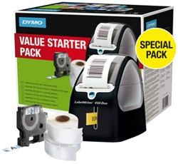Labelprinter Dymo 450 Duo Promopack incl. labels