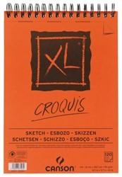 Schetsblok Canson XL Croquis A4 90gr 120vel