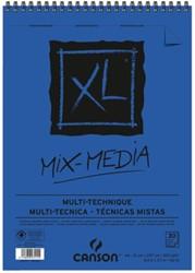 Aquarelblok Canson XL Mix Media A4 300gr 30vel