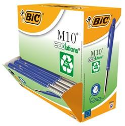 Balpen Bic M10 Ecolutions blauw + Gratis DOPPER t.w.v. € 7,20
