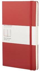 Notitieboek Moleskine lijn large rood 130x210mm