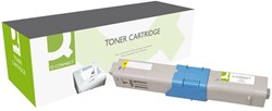 Tonercartridge Q-connect OKI 44469722 5K geel
