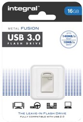 USB-stick 3.0 Integral fd 16GB metal fusion