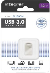 USB-stick 3.0 Integral fd 32GB metal fusion