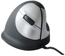 Muis R-Go He mouse medium rechts zwart