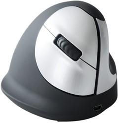Muis R-Go He mouse draadloos medium rechts zwart