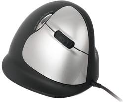 Muis R-Go He mouse groot rechts zwart