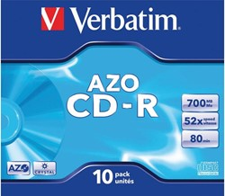 Verbatim Recordable cd AZO