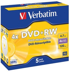 Verbatim ReWritable DVD