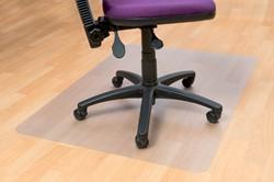 Stoelmat 120x150cm Floortex PVC harde vloer