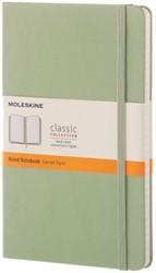 Notitieboek Moleskine large lijn wilgengroen