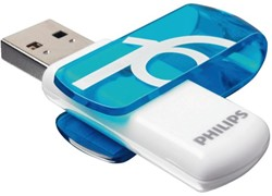 USB-stick 2.0 Philips Vivid Key Type 16GB blauw
