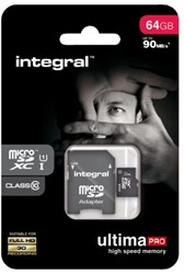 Geheugenkaart Integral micro sdhx 64gb ultimapro CL10