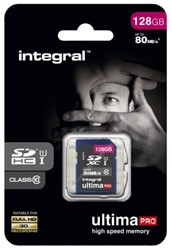Integral geheugenkaart SDHC Class10