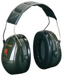 Oorkap 3M Peltor Optime ll hoofdbeugel zwart