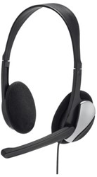 Headset Hama HS200 zwart