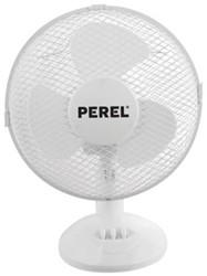 Tafelventilator Perel 30cm wit