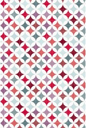 Apparaatrol Haza graphic style red 200m x 50cm