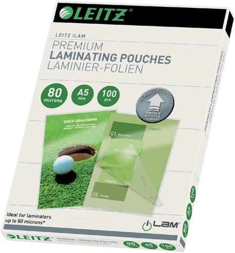 Lamineerhoes Leitz iLAM A5 2x80micron 100 stuks