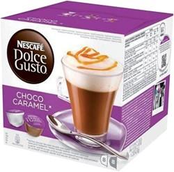 Dolce Gusto choco caramel 16 cups / 8 dranken