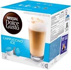 Dolce Gusto Cappuccino ice 16 cups / 8 dranken