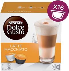 Dolce Gusto late macchiato 16 cups / 8 dranken