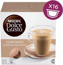 Dolce Gusto cortado espresso macchiato 16 cups