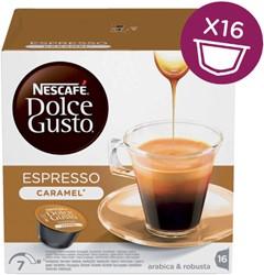Dolce Gusto espresso caramel 16 cups