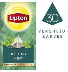 Thee Lipton Exclusive subtiele munt pk/30