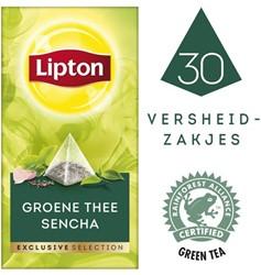 Thee Lipton Exclusive groene thee sencha pk/30
