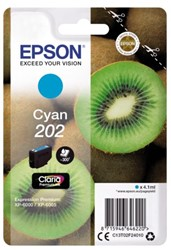 Inkcartridge Epson T02F24 202 blauw