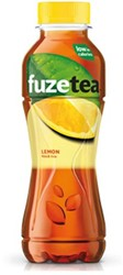 Fuze Tea lemon tea petfles 0,4L
