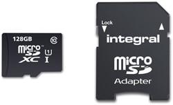 Integral geheugenkaart Micro SDXC Class10 +adapter