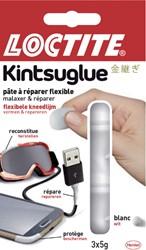 Kneedgum Loctite flexibel 3x5gr wit