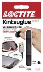 Kneedgum Loctite flexibel 3x5gr zwart