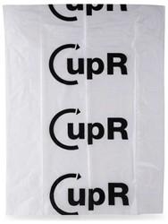 Afvalzak CupR inzamel 60x80cm 60ltr HDPE 23my transparant ds/500