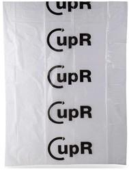 Afvalzak CupR inzamel 80x110cm 145ltr HDPE 30my transparant ds/300
