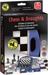 Spel Jumbo schaken en dammen travel