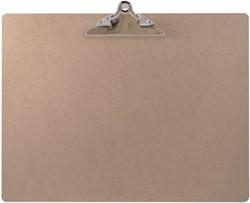 Klembord LPC A3 dwars 145mm vlinderklem MDF