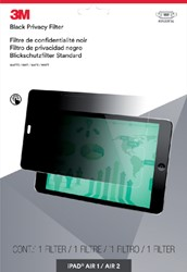 Privacy filter 3M iPad air/1/2/Pro liggend 9.7""