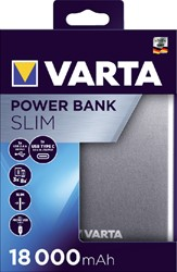 Powerpack Varta 18000mAh zilver