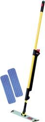 Pulse mop kit met navulling geel