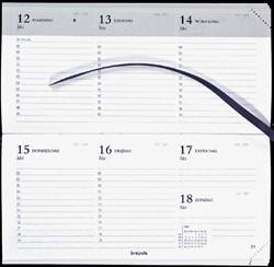Agenda 2019 Breprint 7dagen/2pagina's 8,1x16,6cm assorti