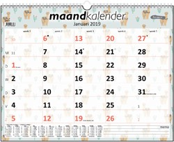 Kalender maand 2019 Foqus alpaca
